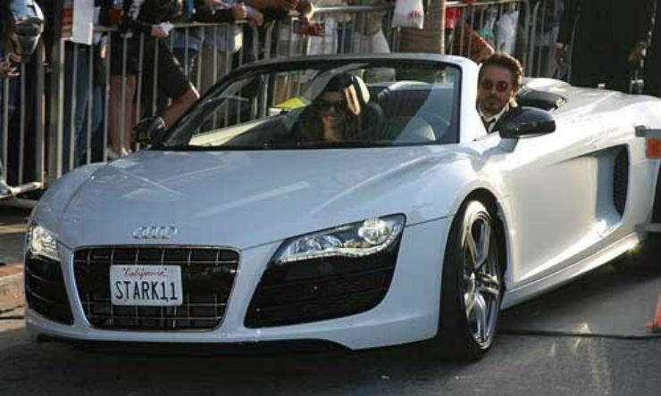 Audi R8_White