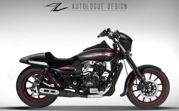 Autologue Design Bajaj Avenger Harley Conversion 2