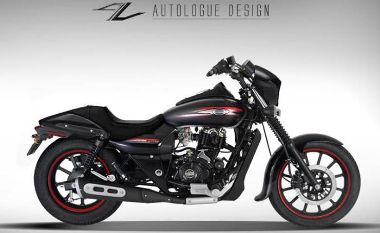 Autologue Design Bajaj Avenger Harley Conversion 3