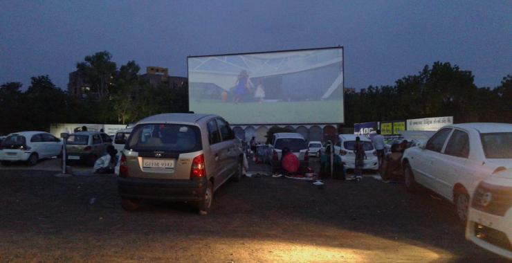 Sunset Drive-In Cinema Ahmedabad