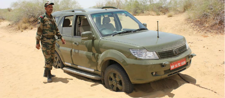 Tata Safari Army