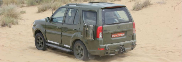 Tata Safari_Army 1