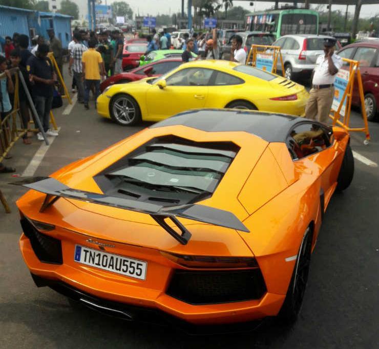 Chennai cops seize supercars