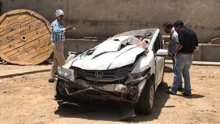 4 Delhi students dead as speeding Honda City crashes off flyover