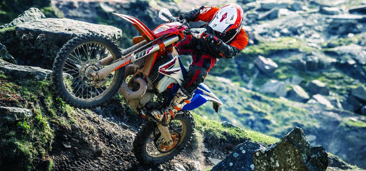 KTM unveils world's first fuel injected two-stroke motorcycles