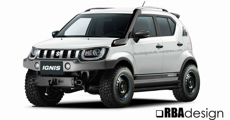 maruti ignis off road version can be a reality. Black Bedroom Furniture Sets. Home Design Ideas