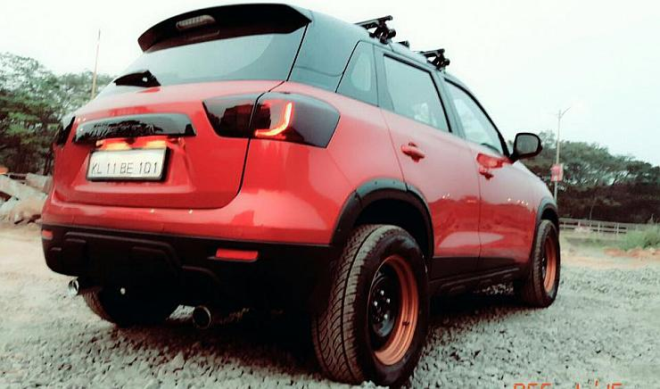 India S Hottest Modified Maruti Vitara Brezza Is Here