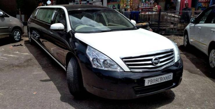 Mumbai RTO seizes Nissan Teana modified into a stretch limousine