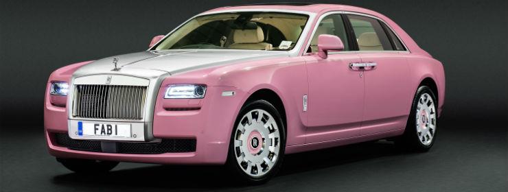Rolls Royce Pink