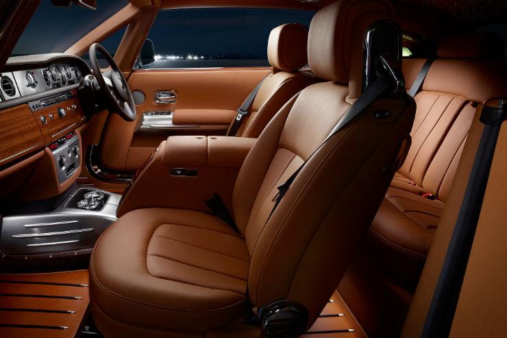 Rolls Royce seats