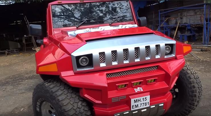 SP Designs Mahindra Thar Hummer 1