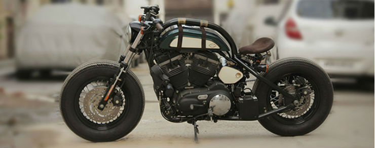 Continued: 10 droolworthy custom-built Harley Davidsons of India