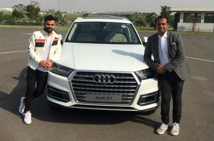 Virat Kohli Anushka Sharma The Cars They Own From Range - Audi car price in sri lanka