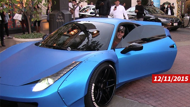 Justin Bieber's cars & SUVs are pure drool