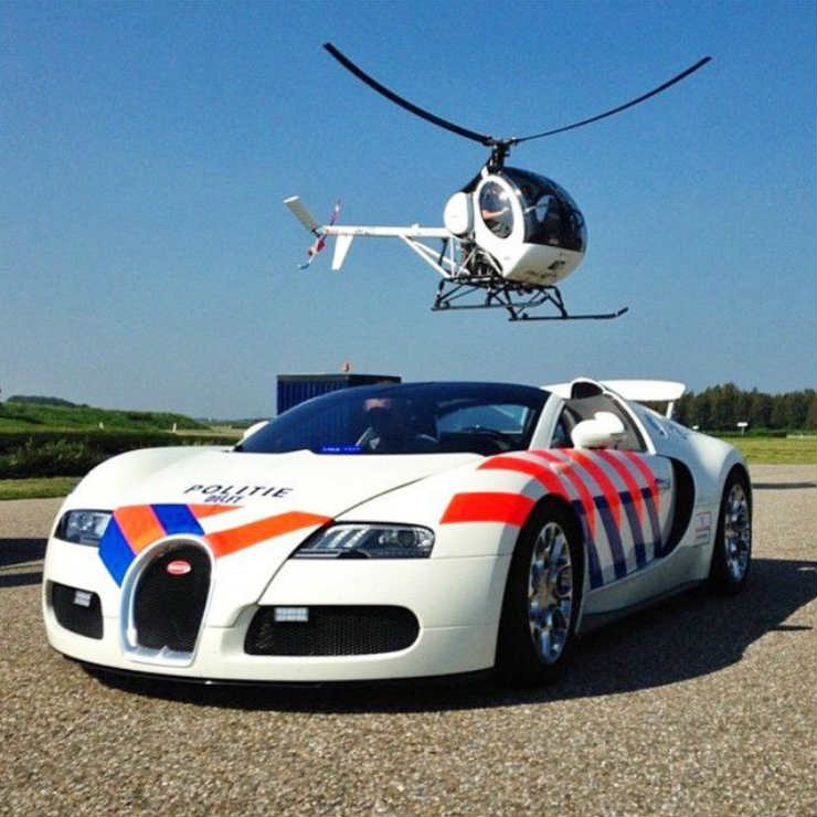Crazy cop cars from around the world