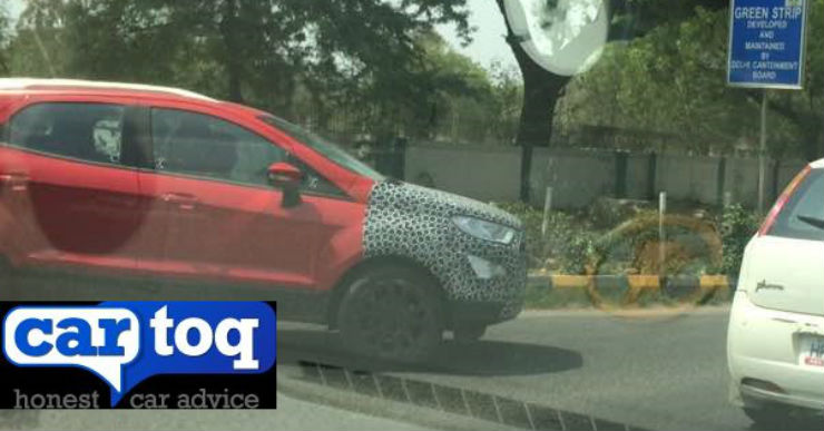 Ford Ecosport spied