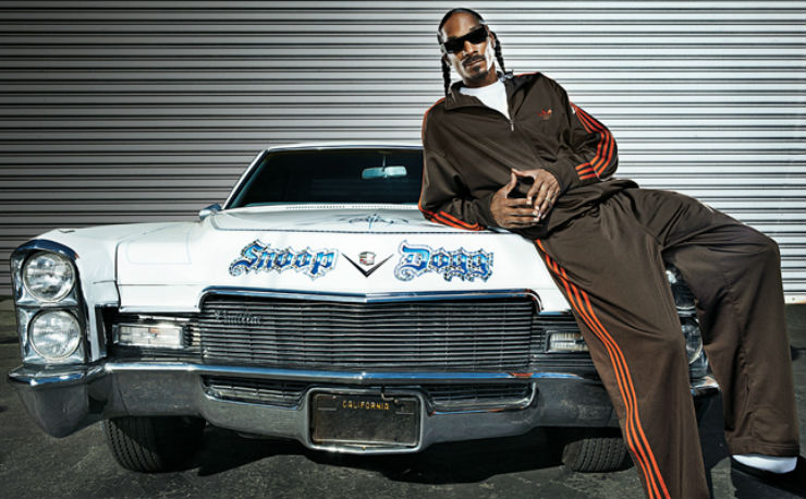 Continued: Into Snoop Dogg's classy garage of cars
