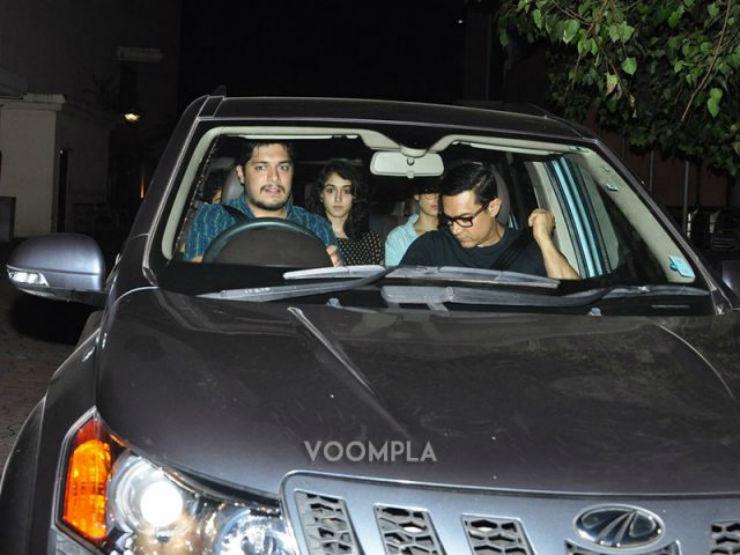 Aamir Khan Mahindra XUV500