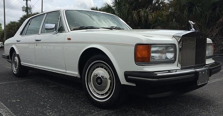 1995 Roll Royce Silver Spur