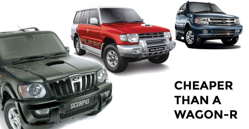 10 used SUVs cheaper than a Maruti WagonR! From Honda CR-V to Maruti Gypsy, you can find many options