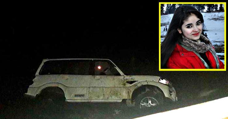 Dangal actress Zaira Wasim rescued after Mahindra Scorpio crashes into Dal lake