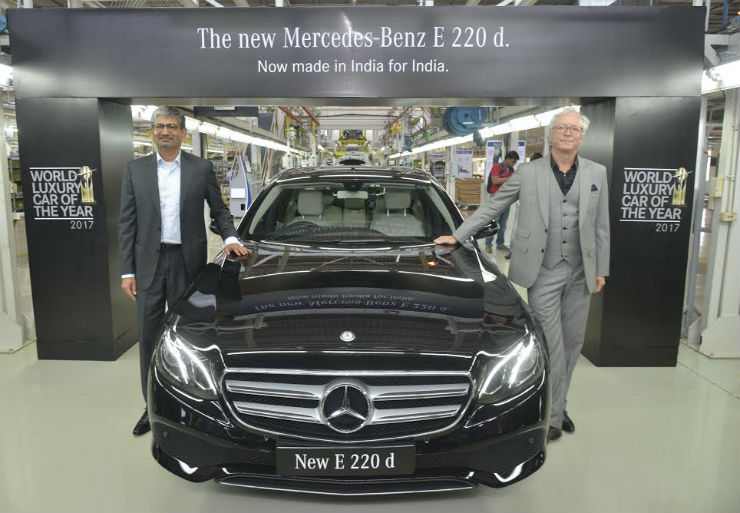 Mercedes launches E220 LWB