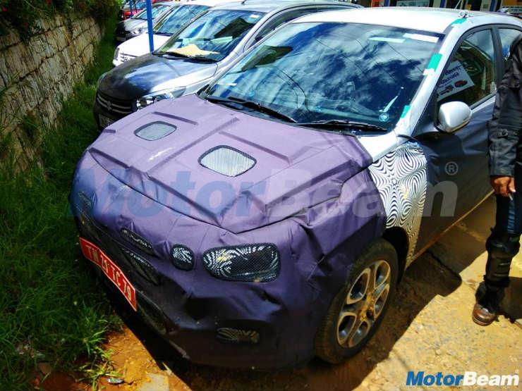 All-new Hyundai i20 spied up close