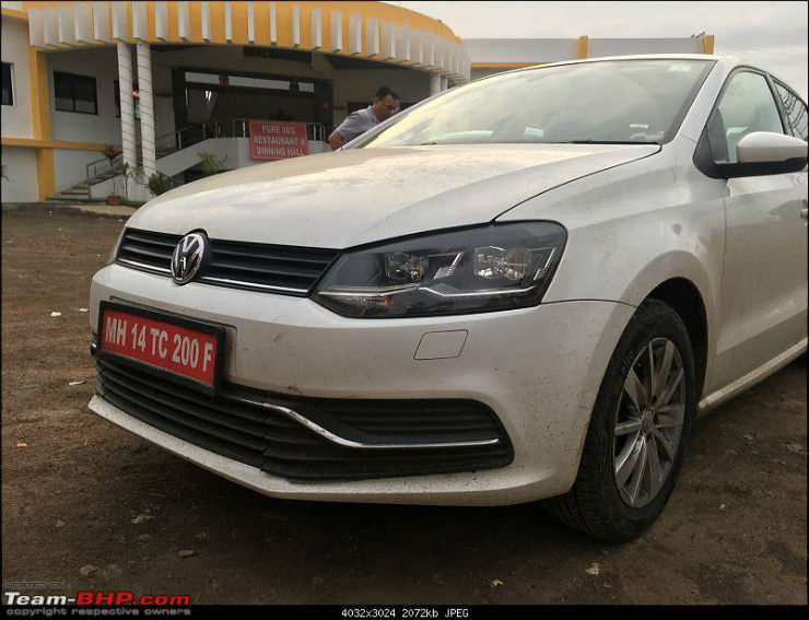 Vw Polo Bluemotion Spied In India