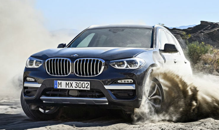 All-new BMW X3 unveiled