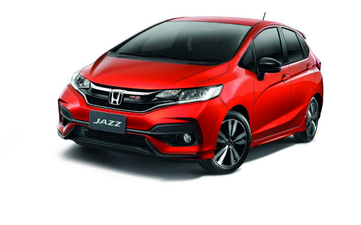 Facelifted Honda Jazz all set to challenge Maruti Baleno & Hyundai i20 Elite in India