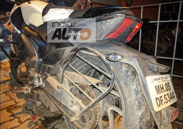 Bajaj Dominar Alloy Wheel Breakage 2