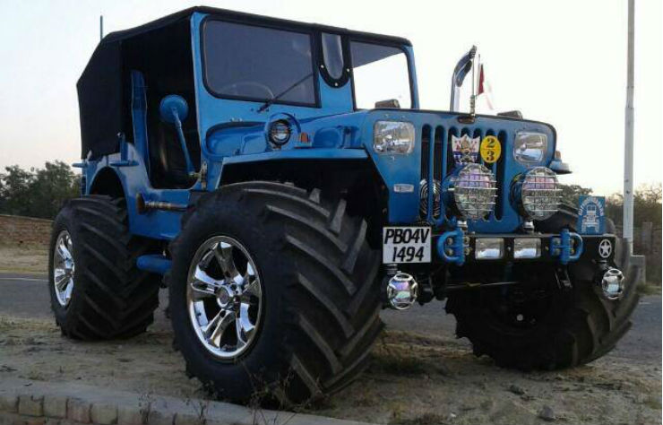 Continued: 10 crazy COOL low rider jeeps of India: Edition II
