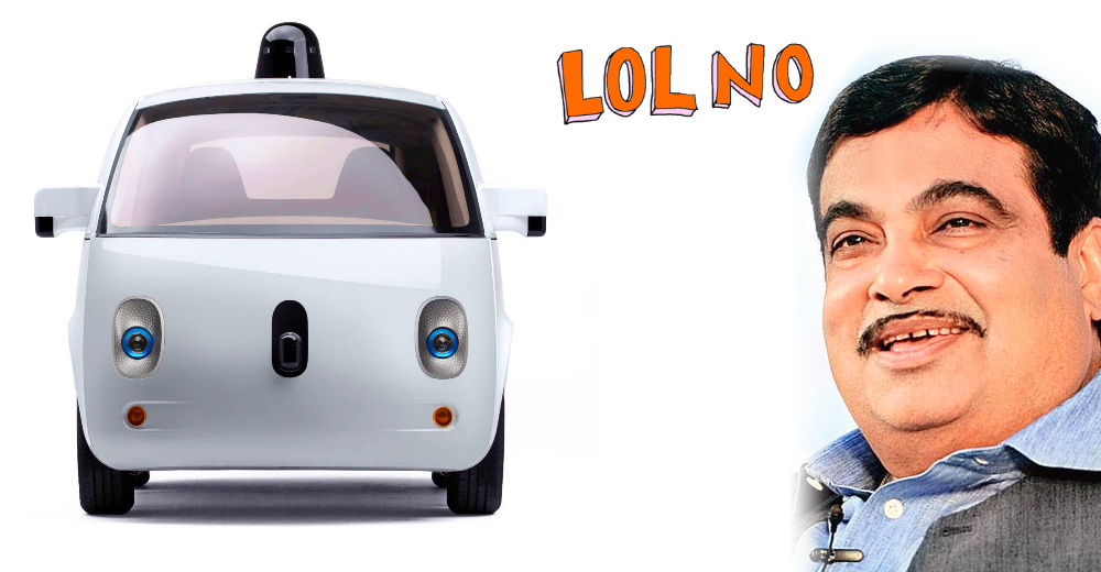 Driverless cars will NOT be allowed in India says Transport Minister: Here's why