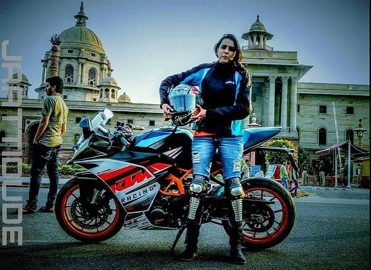 Lady biker's KTM RC390 allegedly stolen at gun-point in Noida, Uttar Pradesh
