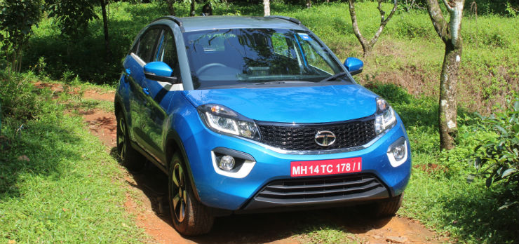 Tata Nexon: Detailed first drive, driving experience & gallery!
