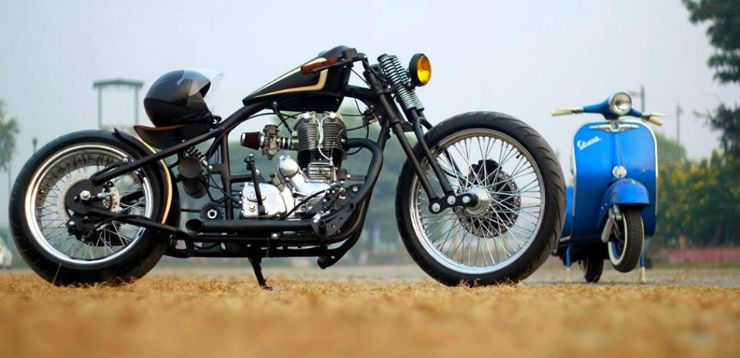Continued: 10 of the most gorgeous Royal Enfield custom bikes ever built