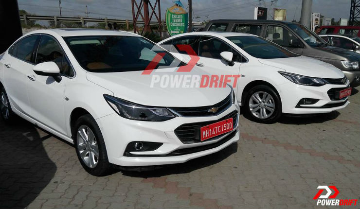 All New Chevrolet Cruze Spotted Testing In India