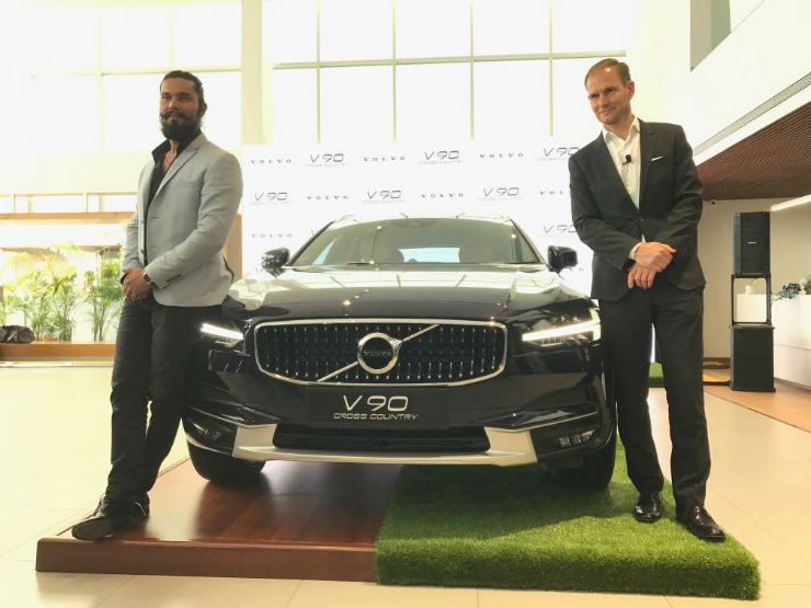 Volvo launches the V90 Cross Country in India