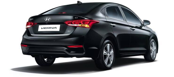2017 All-New Hyundai Verna Rear