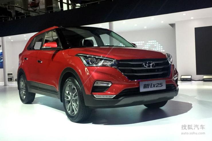 2017-Hyundai-ix25-CN-spec-Hyundai-Creta-facelift-front-three-quarters
