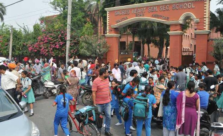 A Typical School Zone India
