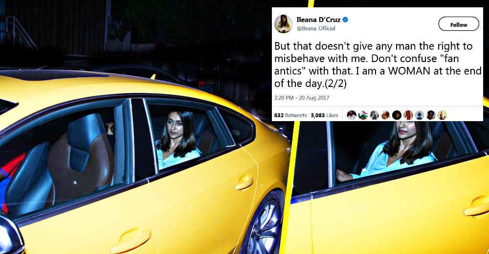 Movie star Ileana D'Cruz harassed in her new Audi S5 by 6 men