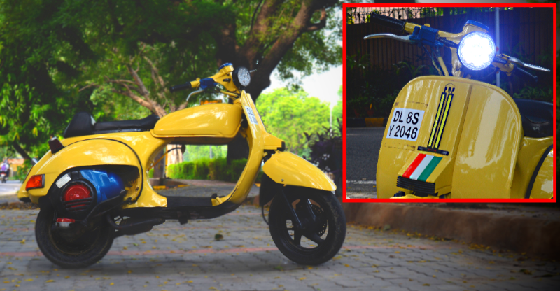 This is India's first & only LML Scooter-based Cafe Racer