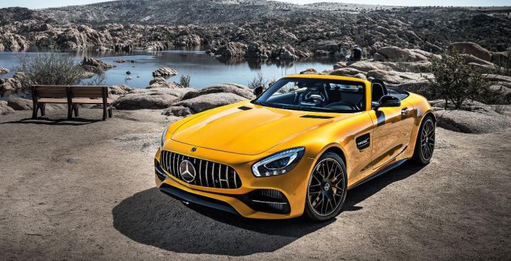 Mercedes Benz AMG GT-C Roadster