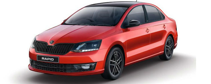 Skoda Rapid Monte Carlo is now known as Rapid Edition X