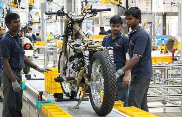 Royal Enfield waiting period may come down with opening of new plant