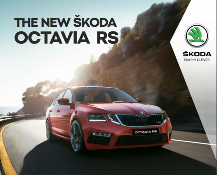 Exclusive: Skoda Octavia vRS brochure leaked ahead of launch