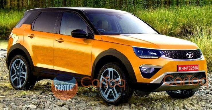 Tata Q501 5-seater compact SUV: This is what it could look like