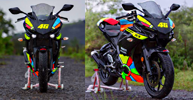 Yamaha R3 kit inspired by Valentino Rossi's MotoGP M1 is super AFFORDABLE