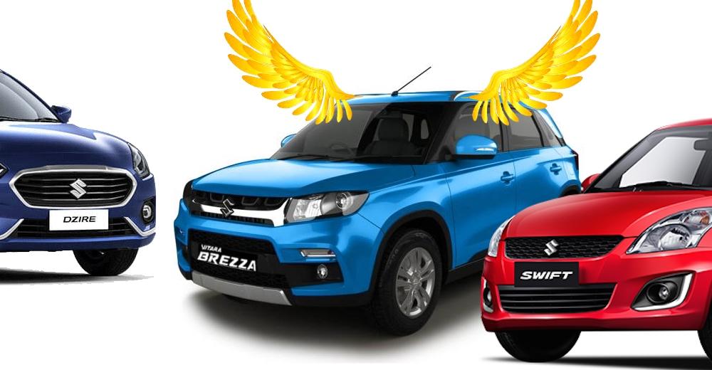 Suzuki Brezza beats the Swift and Dzire in July